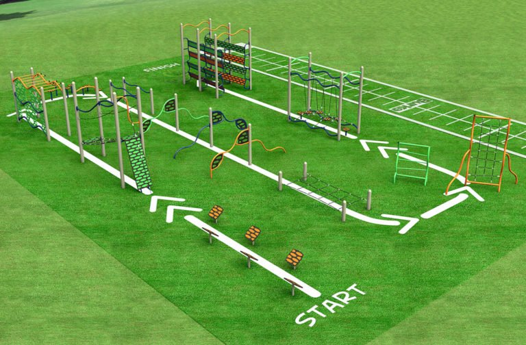 Outdoor Fitness & Adult Playground Equipment | PlayQuest ...